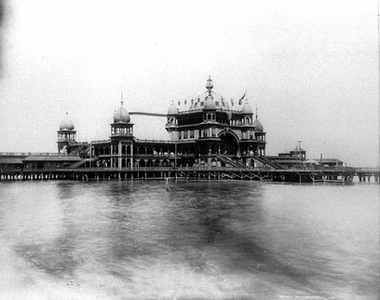 Saltair number one under construction 1893.
